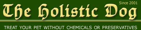 Holistic Dog - Treat your pet without chemicals or preservatives Flint River Ranch hypo-allergenic holistic dog food
